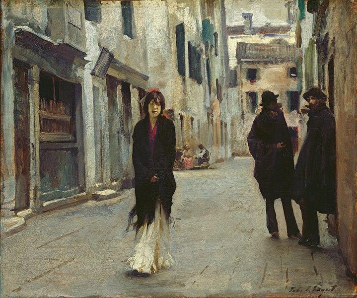 威尼斯的街道 | 萨金特
