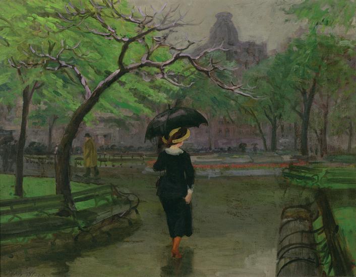 Spring Rain, New York | John French Sloan