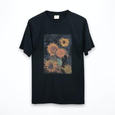 梵高的向日葵T恤