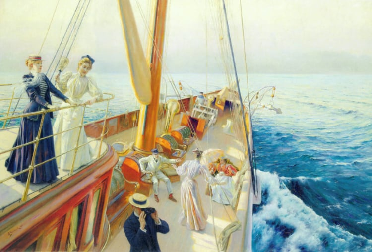 Yachting in the Mediterranean | Julius LeBlanc Stewart