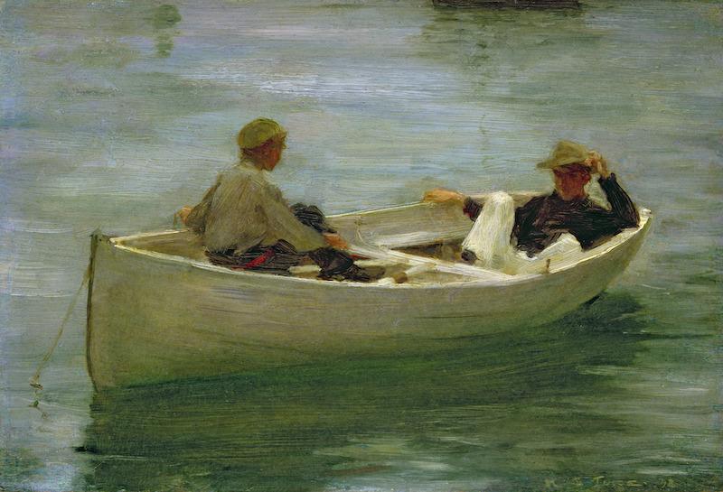 In the Rowing Boat | Henry Scott Tuke