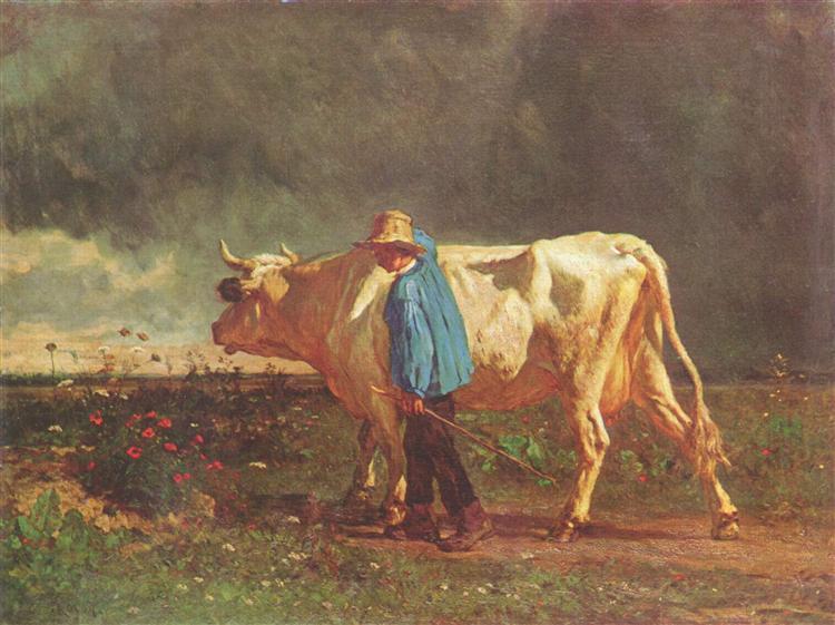 Herdsman, 1860 - Constant Troyon