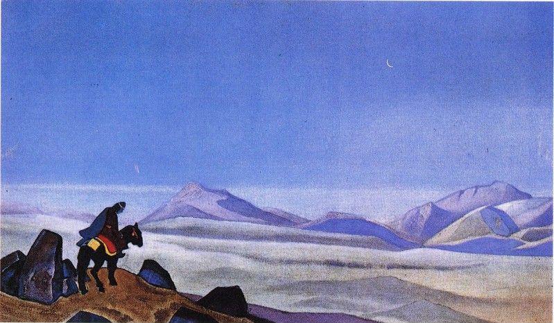 Mongolian horseman | 尼古拉斯·洛里奇