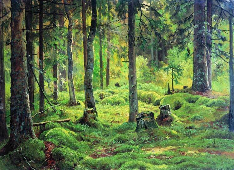 Deadwood, 1893 - Ivan Shishkin