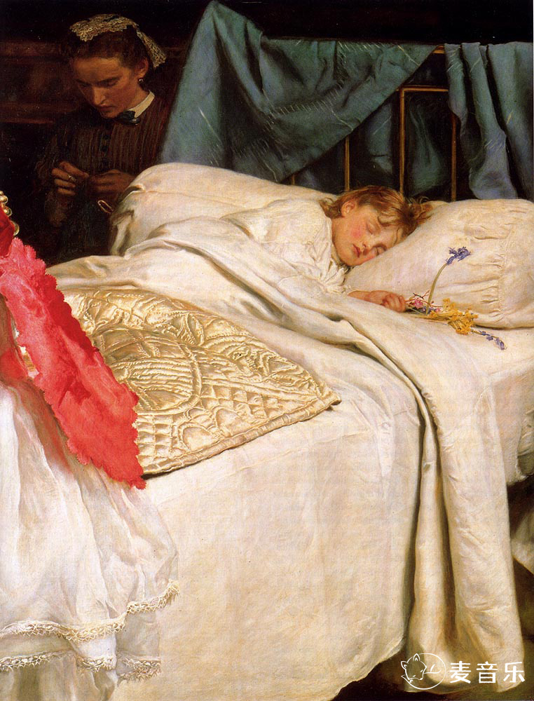 Sleeping | 约翰·埃弗里特·米莱斯
